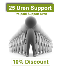 25 hours Pre-Paid Support